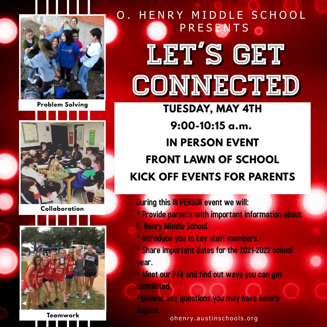 Let's Get Connected Flyer