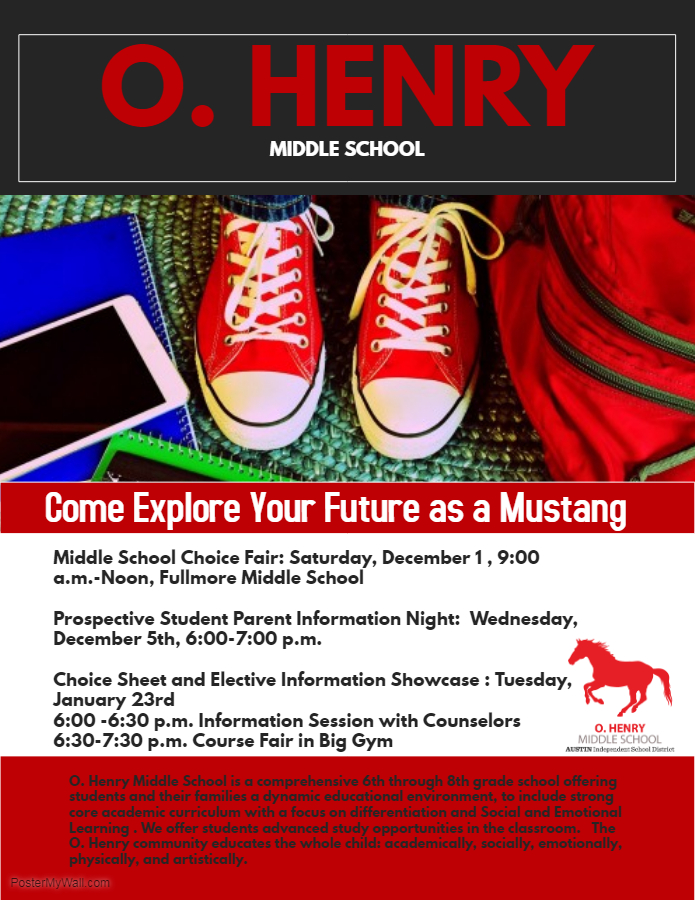 Learn More About O. Henry Middle School