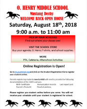 Mustang Derby Day Schedule Pick Up